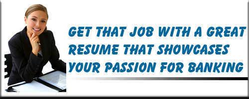 Banking Resume Service