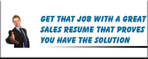 Sales Resume Service